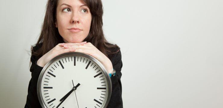 woman-clock